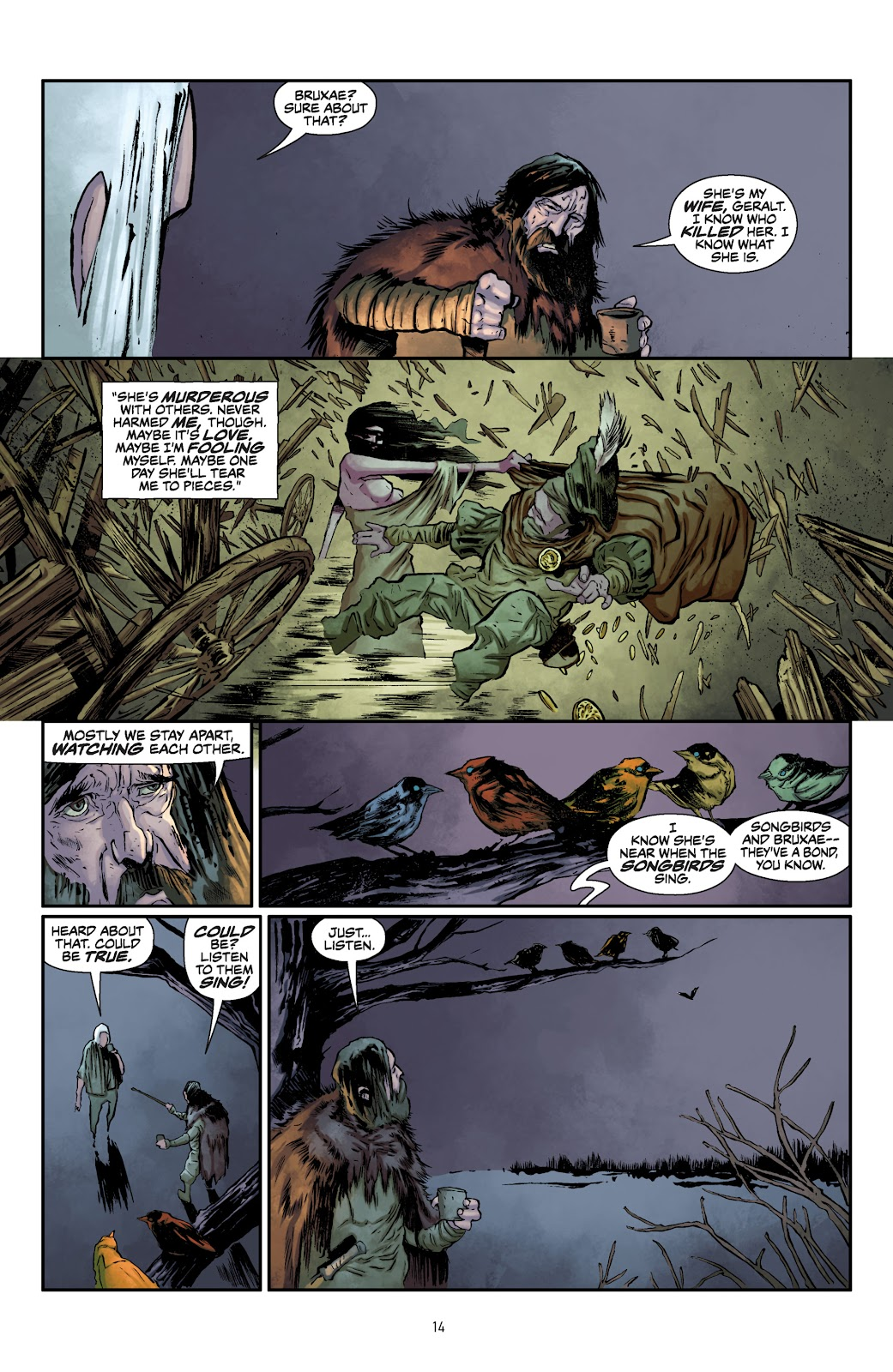 Read online The Witcher Omnibus comic -  Issue # TPB (Part 1) - 15