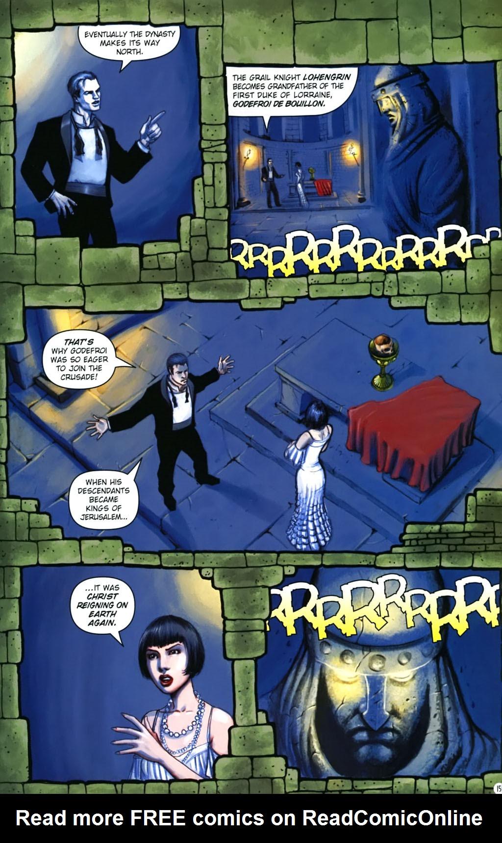 Read online Rex Mundi comic -  Issue #17 - 19