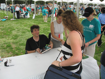 Neil Gaiman at the National Book Festival