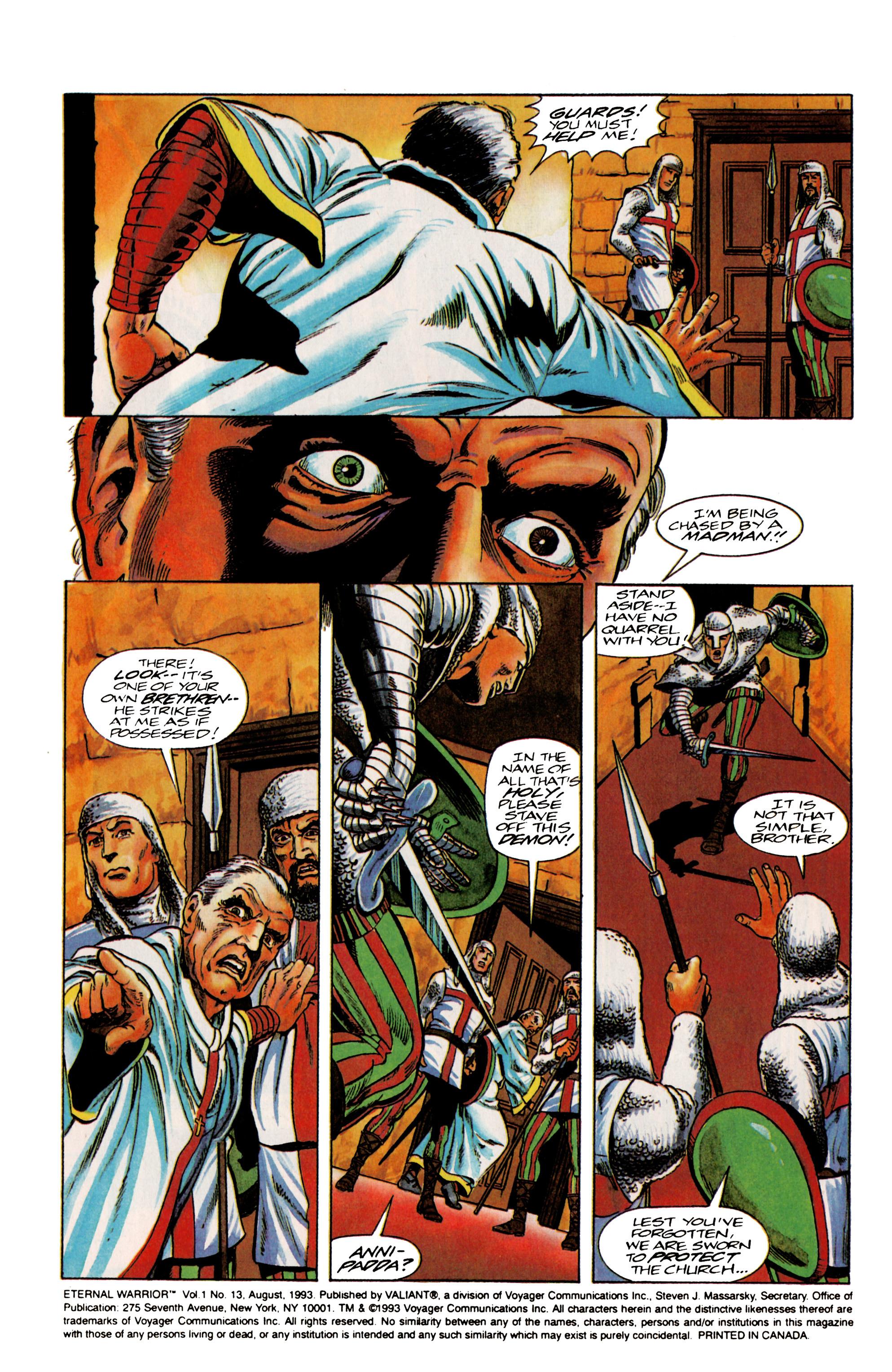 Read online Eternal Warrior (1992) comic -  Issue #13 - 3