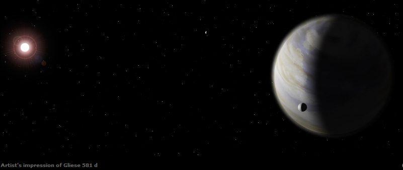 Gliese 581e - Pics about space