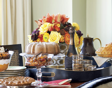 Tracy Soup Thanksgiving Table Setting