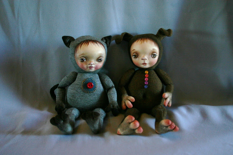 Two Zoziedolls SOLD
