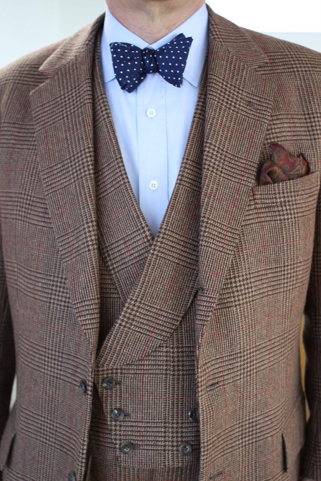 Мужской костюм-тройка