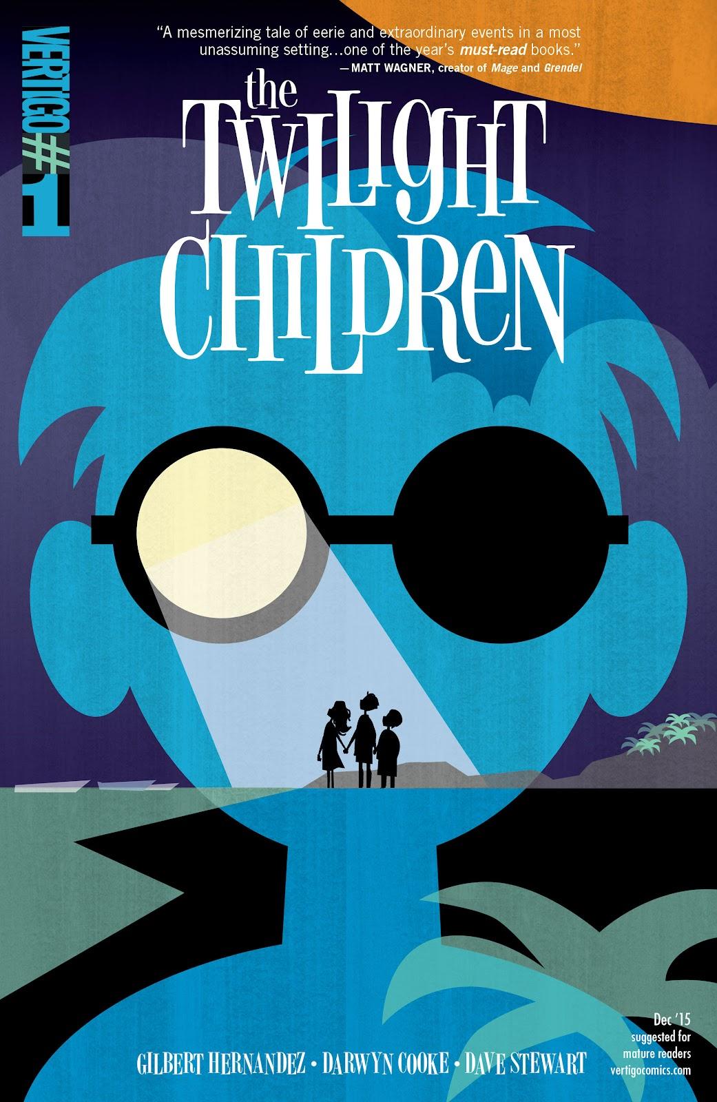 Read online The Twilight Children comic -  Issue #1 - 1