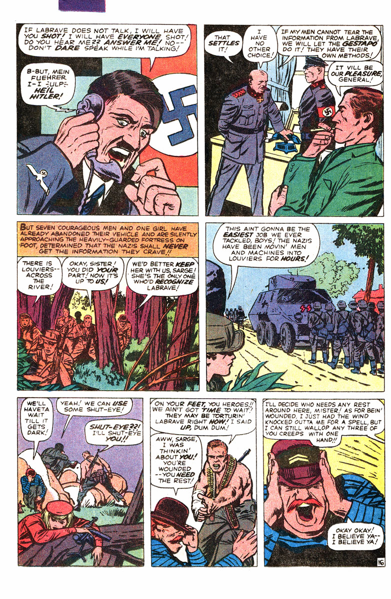 Read online Sgt. Fury comic -  Issue #167 - 27