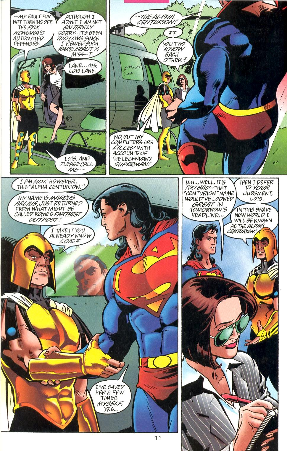 Read online Adventures of Superman (1987) comic -  Issue #527 - 12