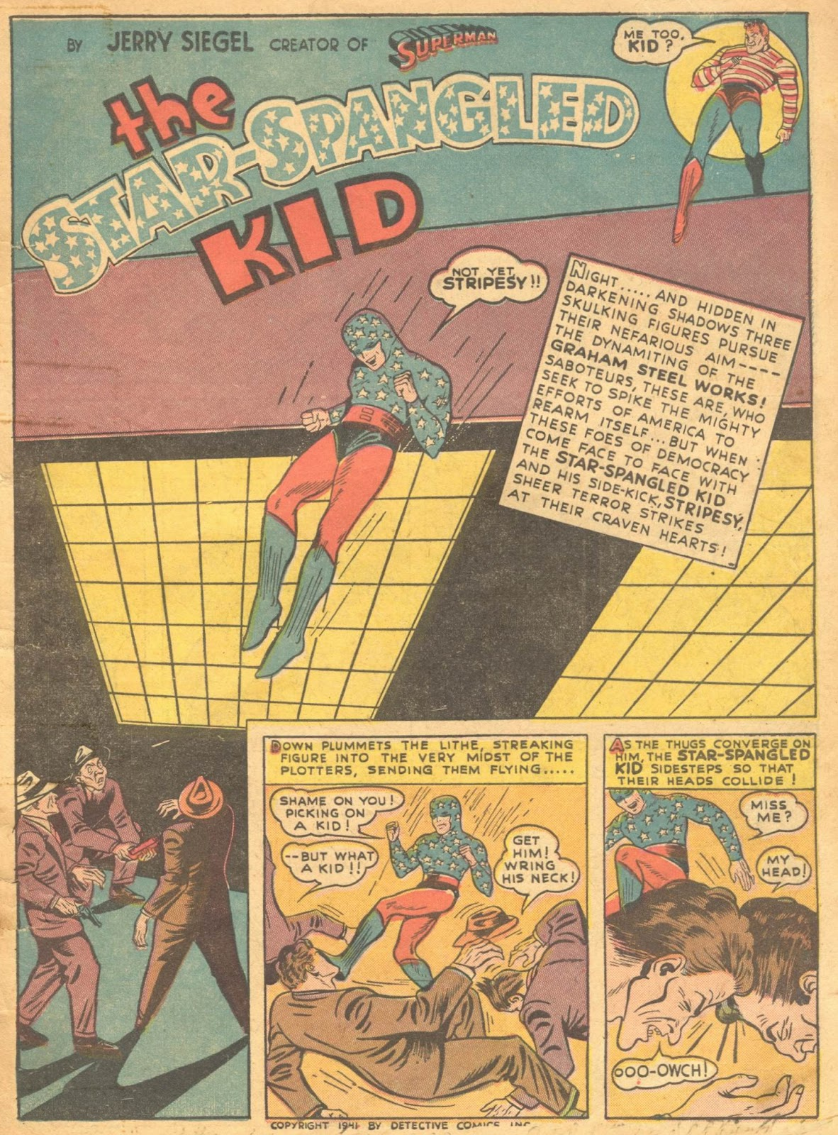 Star Spangled Comics (1941) issue 1 - Page 3