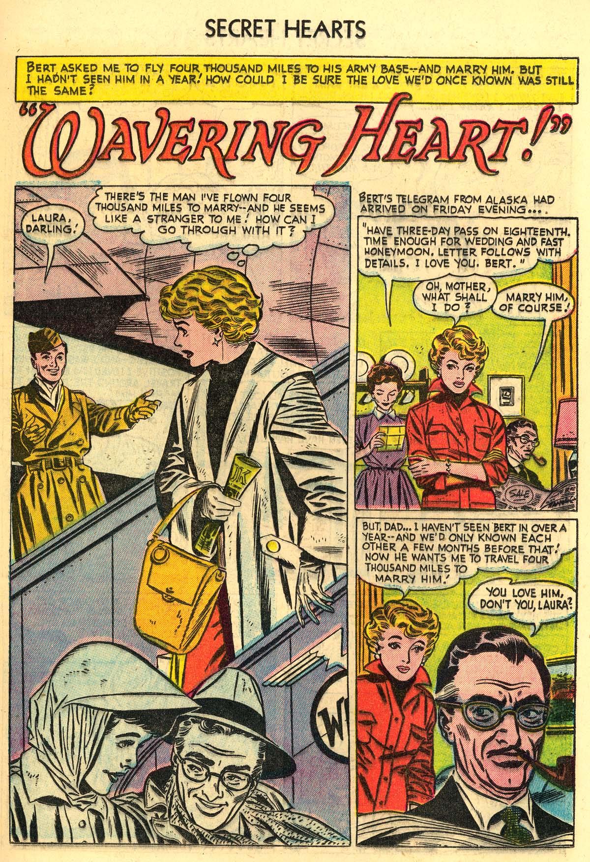 Read online Secret Hearts comic -  Issue #30 - 19
