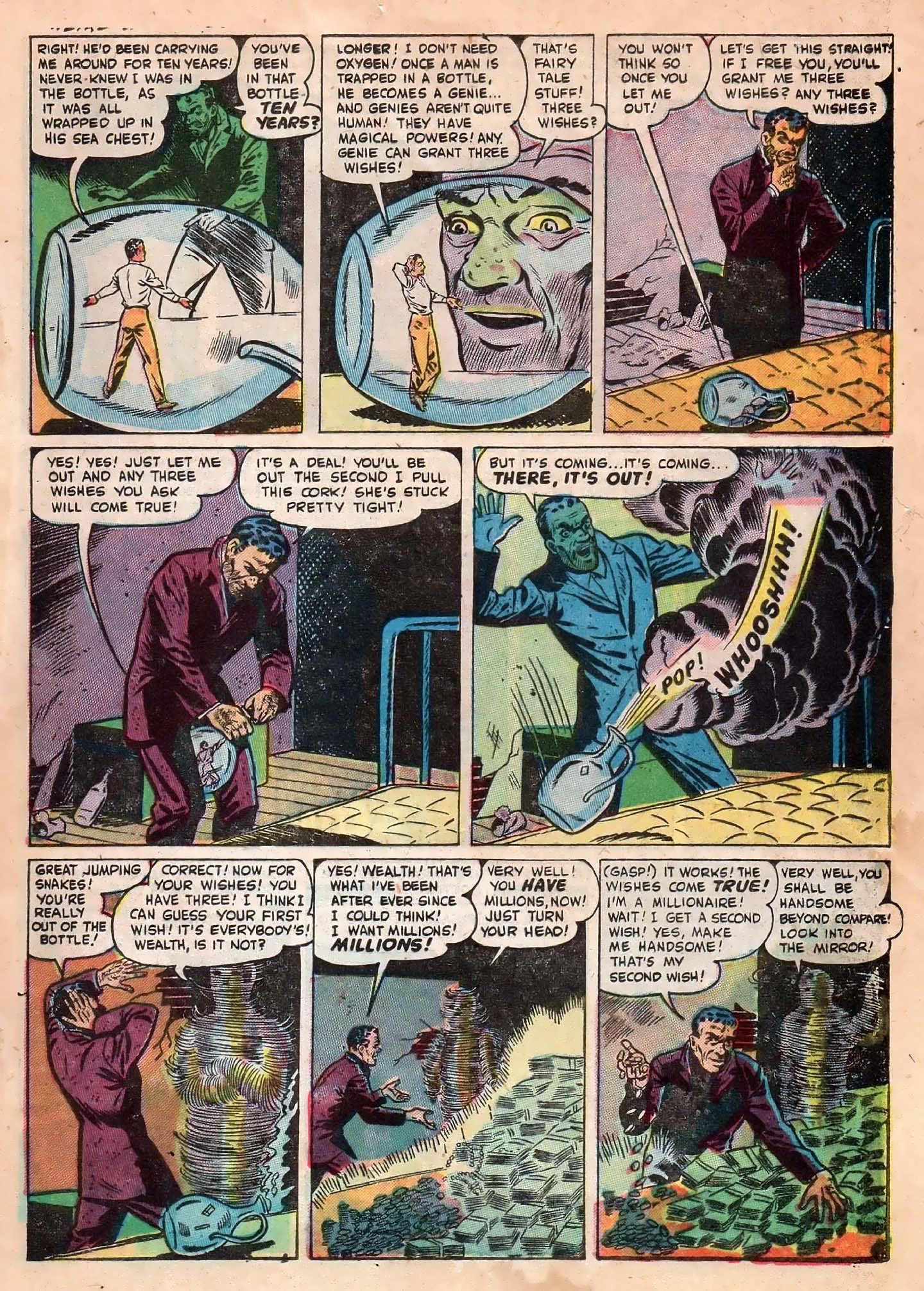 Read online Adventures into Weird Worlds comic -  Issue #2 - 25