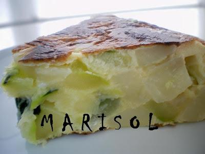 COCINA CONMIGO: Tortilla de patatas baja en calorias