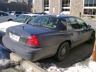 Public Domain Pics: Unmarked Police Car