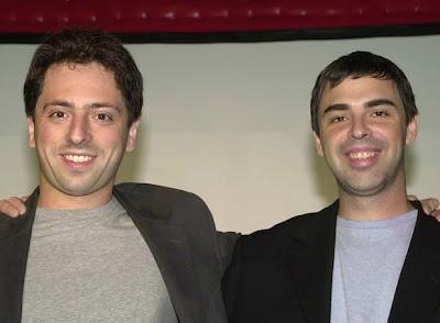 Sergey Brin y Larry Page fundaron google