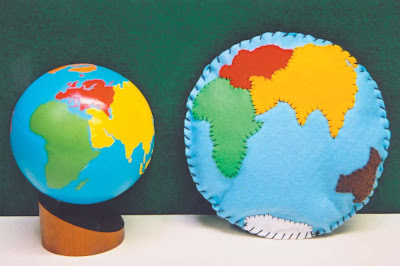 NAMC Montessori peace curriculum environmental awareness earth day activities pillow