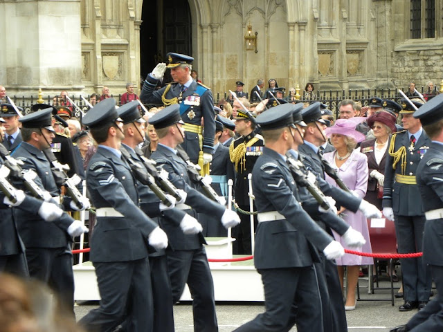 The military parade