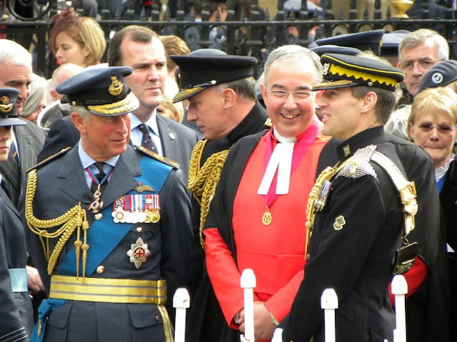 Prince William and his father Prince Charles