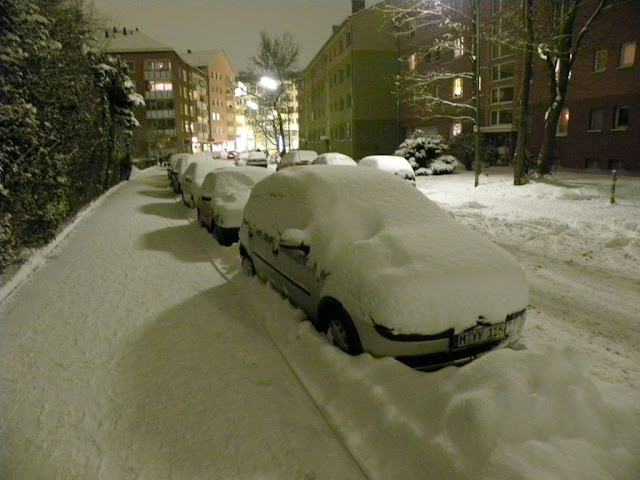 Snow in Munich
