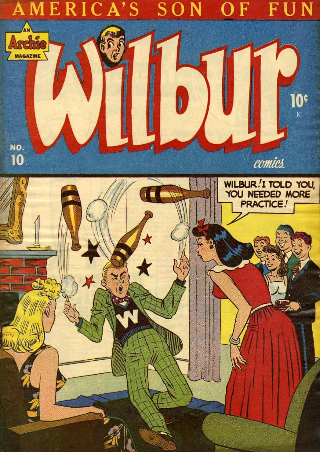 Wilbur Comics 10 Page 1