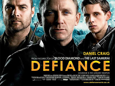 Daniel Craig and Liev Schreiber - Defiance Movie
