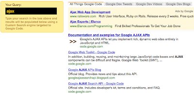 Google AJAX APIs Blog: August 2009