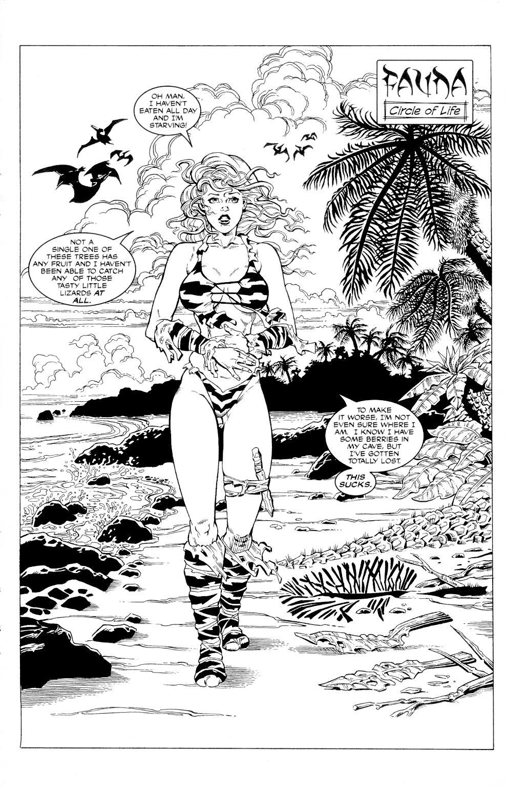 Read online Jungle Fantasy (2002) comic -  Issue #4 - 5