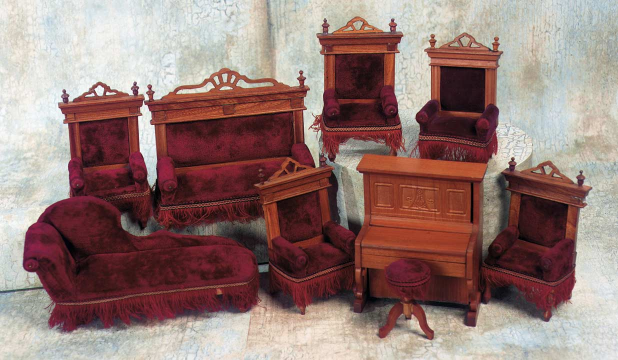 Vintage Doll House Furniture 34