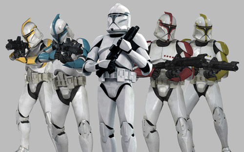 Why Willie: Clone Troopers or Storm Troopers