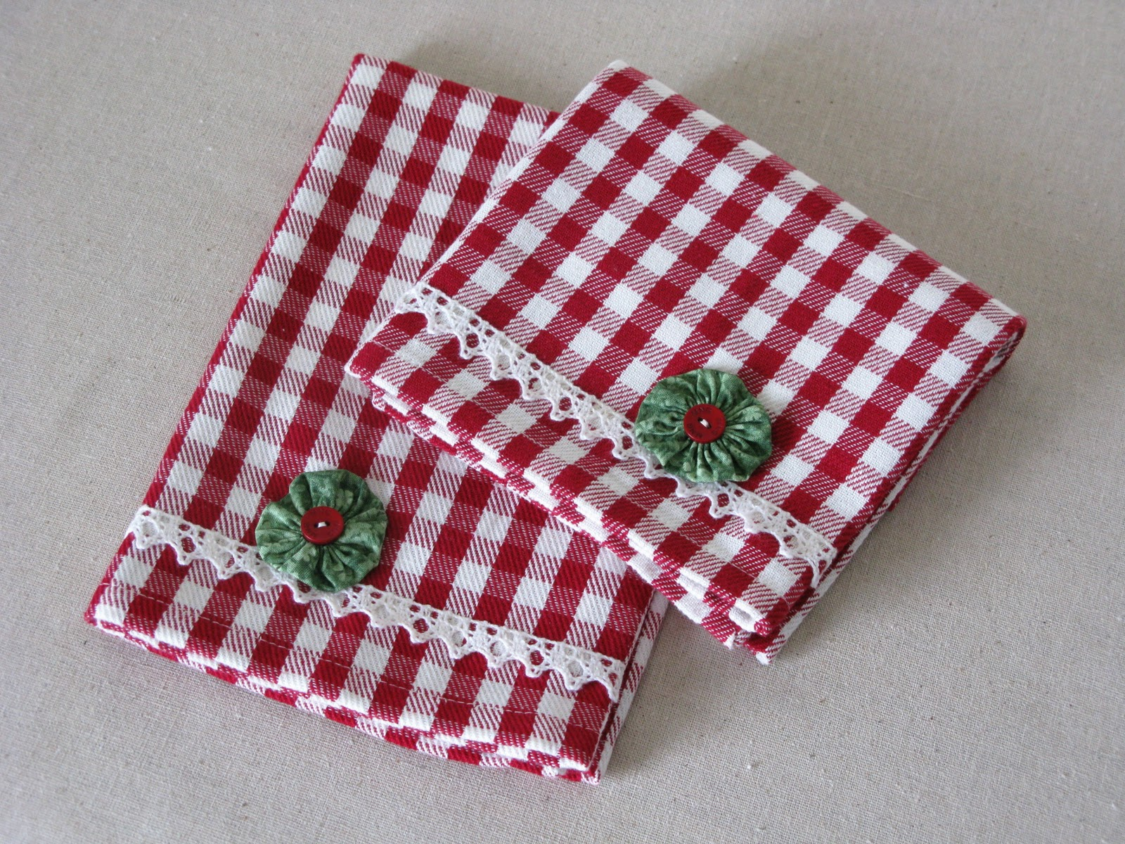 Miss Abigail S Hope Chest Christmas Kitchen Towels
