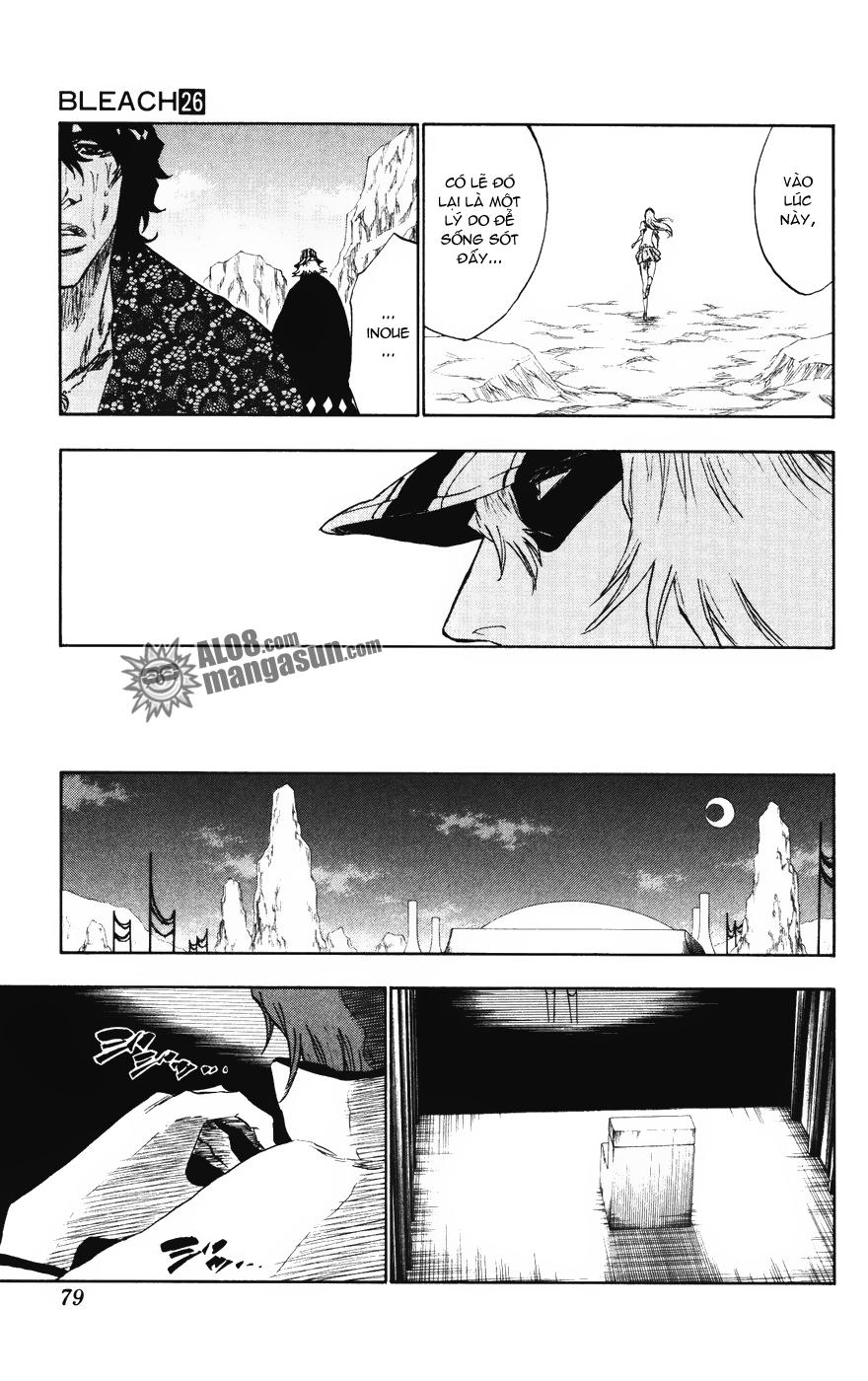 Bleach chapter 227 trang 18