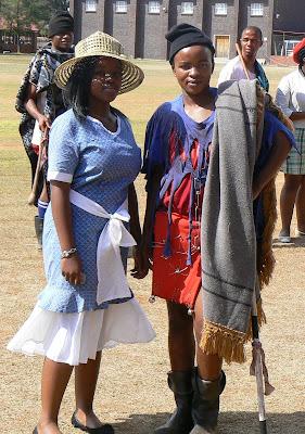 Seshoeshoe Dresses Traditional