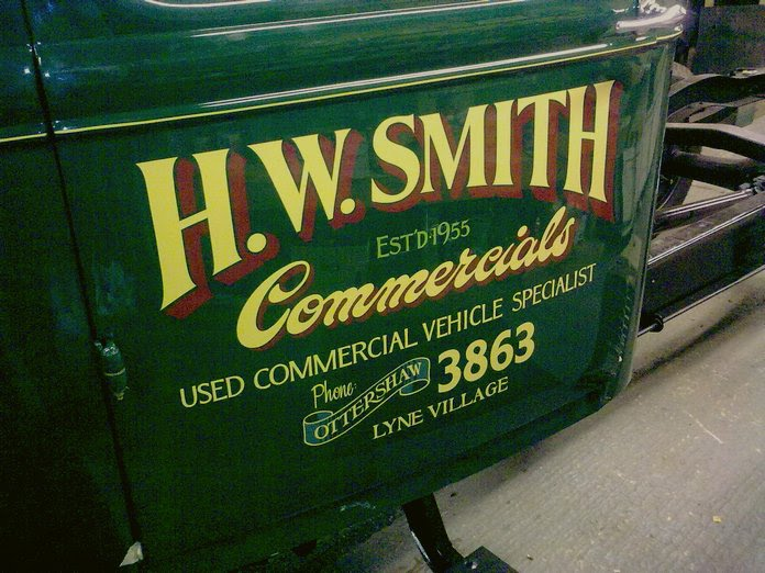 Dave Smith Used Cars >> PROSIGN - traditional signwriters » Blog » Delicious ...