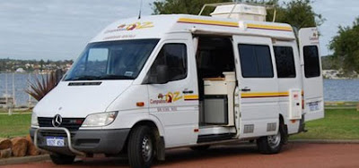 campervan rental: Crocodile Tours with Darwin Campervan Hire