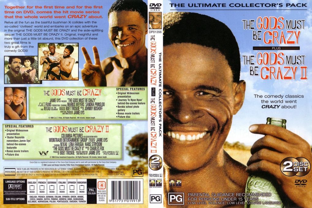 the most powerful movies of all times gods must be crazy the  gods must be crazy 2 the 1989