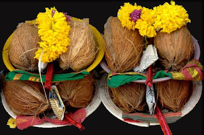 HINDU RITUALS AND ROUTINES   : Coconut
