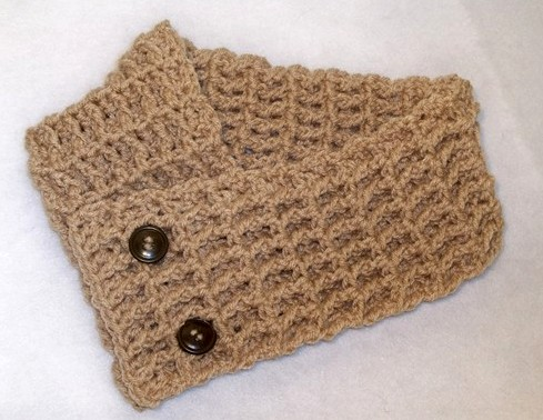 Free Knitting Pattern For A Scarflette Very Simple Free Knitting