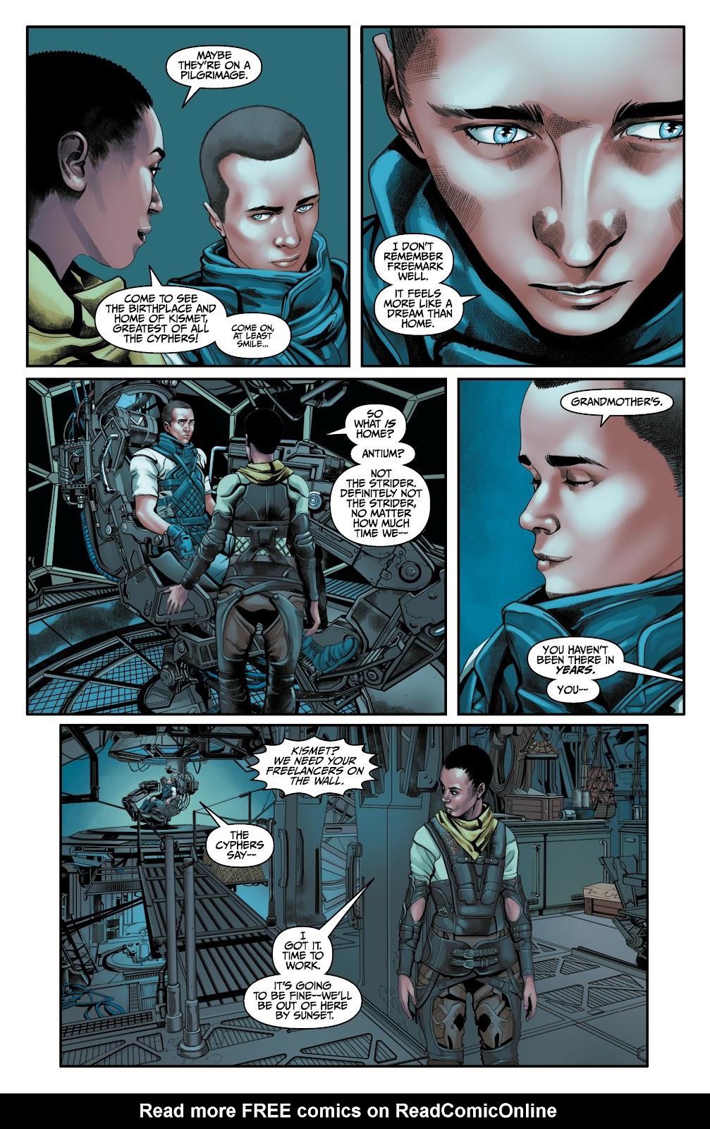 Read online Anthem comic -  Issue #3 - 5