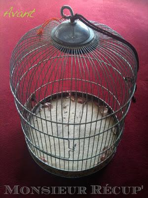 MONSIEUR RÉCUP\': Cage à Oiseaux