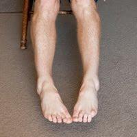 toes brushing