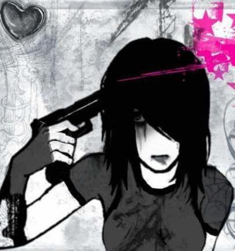 Anime Emo Quotes About Suicide: Emo Wallpapers Of Emo Boys And Girls