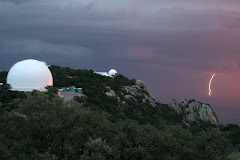 Kitt Peak during a storm