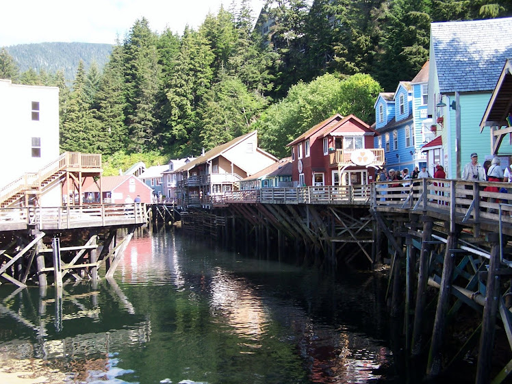 Creek Street, Ketchikan Alaska