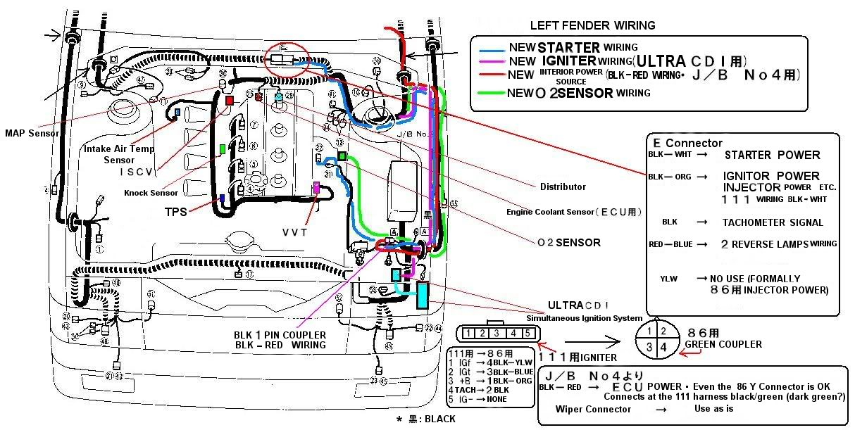 Engine 4AGE 20V Wiring Diagram Schematic Car Enthusiast Car