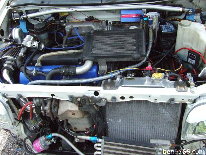 Maintaining a Daihatsu Mira L5 JB-JL - BEN9166