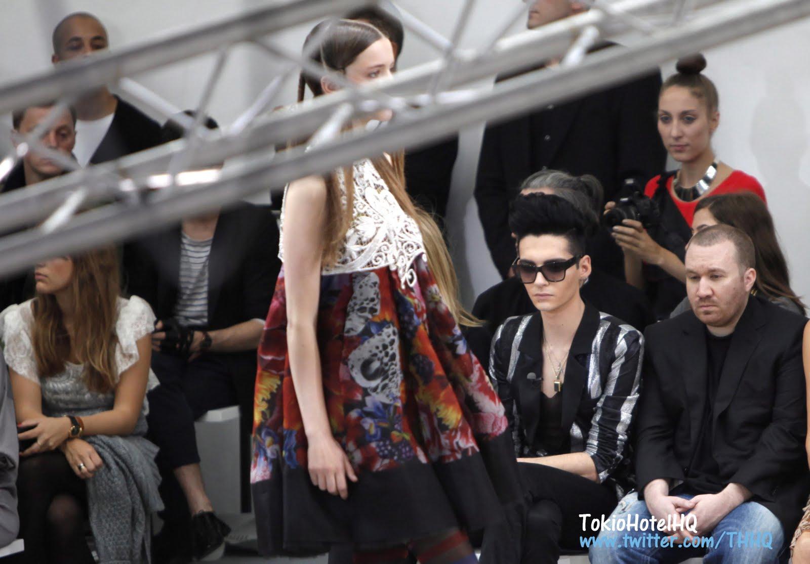 new design new lower prices pre order Entertainment: Oh! Lala, Bill Kaulitz Passion Pour la Mode à ...