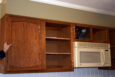 Beaded Kitchen Cabinets