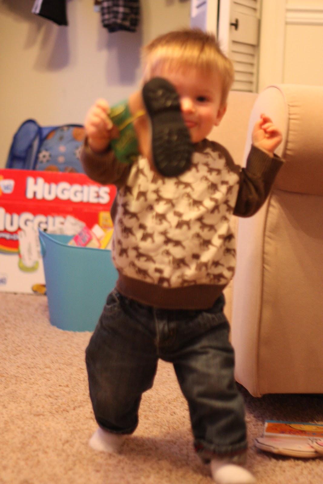 Toddler Shoe Game