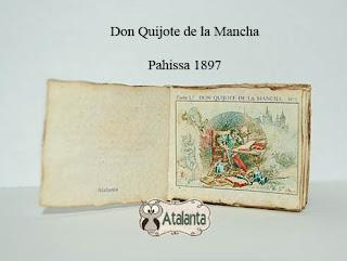 Don Quijote miniatura - minibook