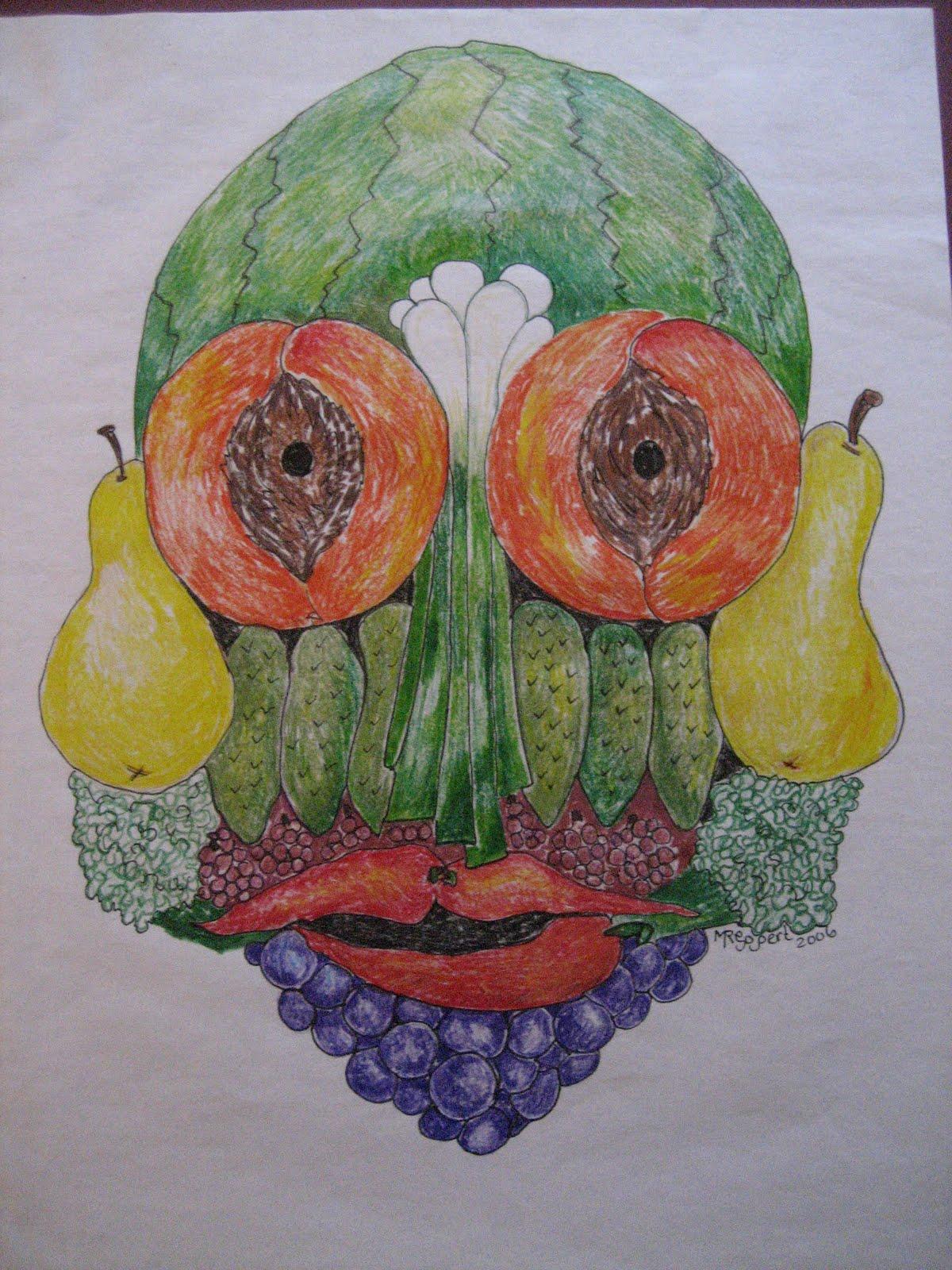 Marthann S Musings Guiseppe Arcimboldo Fruit And