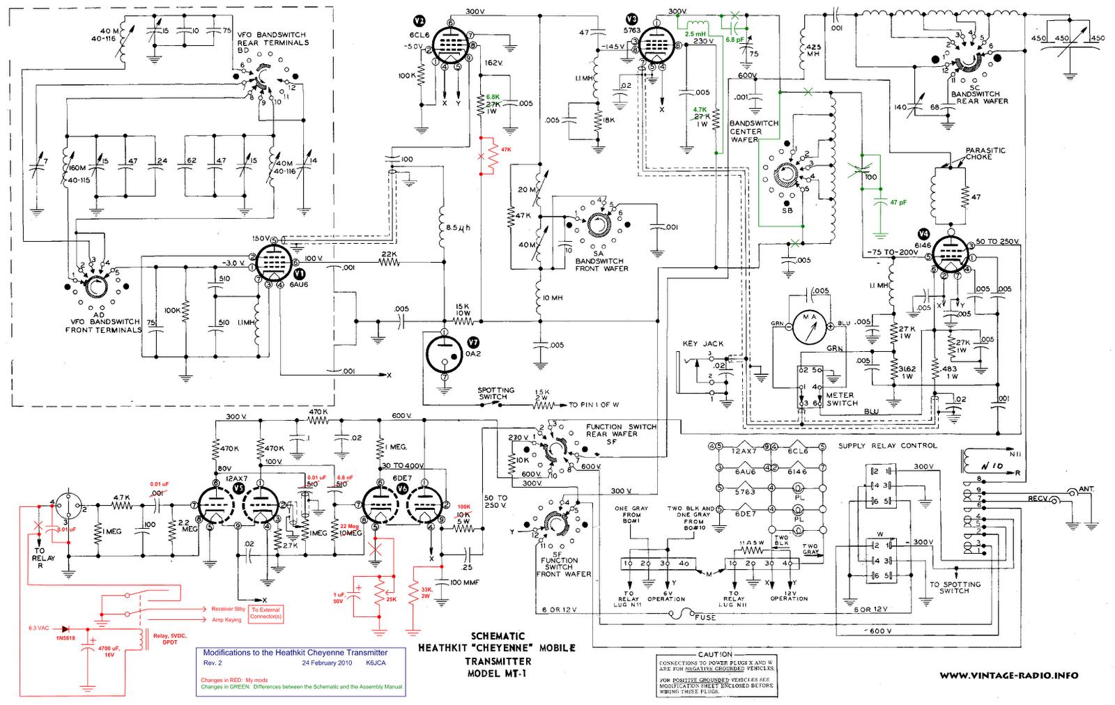 K6jca Revisiting The Heathkit Cheyenne Transmitter