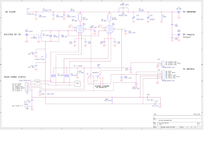 K6JCA: AM Transmitter, 813 Style, Part 1 (PA Deck)